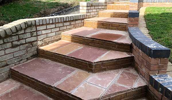 Bricksteps and Walls