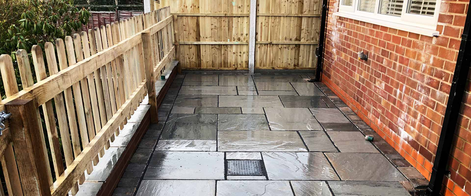Patios, Paving and Fences